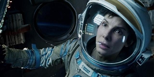FOTO: Sandra Bullock ve filmu Gravitace