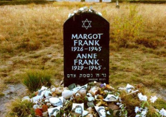 FOTO: památník Anne Frankové