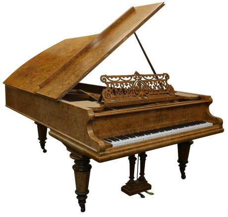 Piano Bechstein Concert Grand z roku 1907. | Zdroj: omegaauctions.co.uk