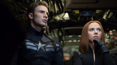 FOTO: Chris Evans Scatlett Johansson Captain America Winter Soldier