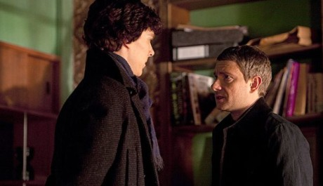 FOTO: Benedict Cumberbatch a Martin Freeman