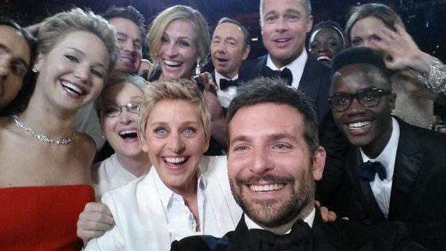 FOTO: Oscarová selfie