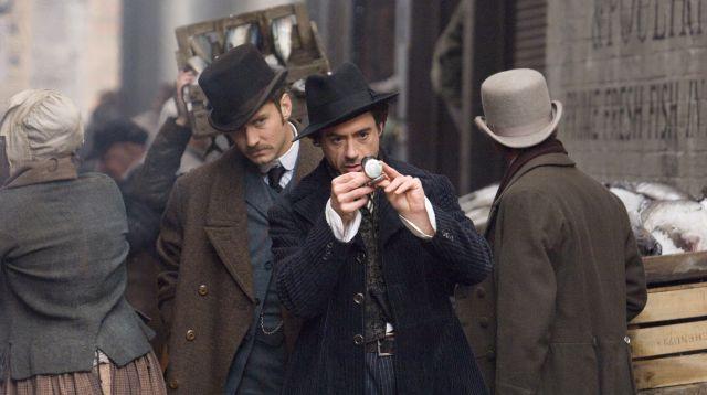 FOTO: Snímek z filmu Sherlock Holmes