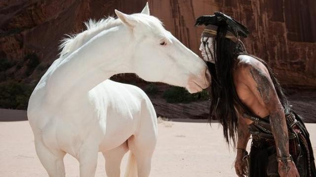 FOTO: Johnny Depp Lone Ranger