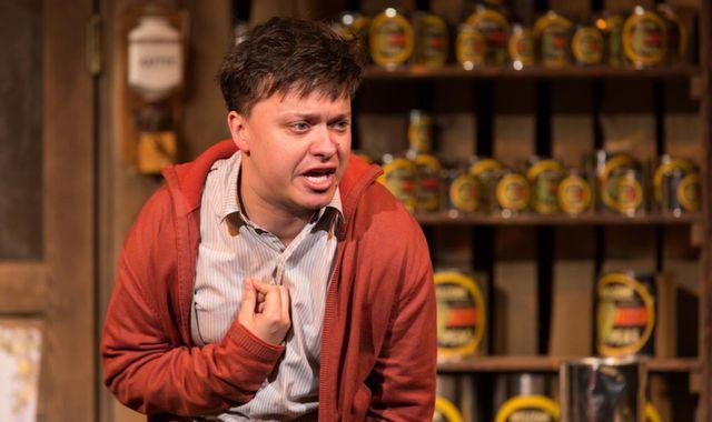 FOTO: Petr Borovec v roli mrzáka Billyho
