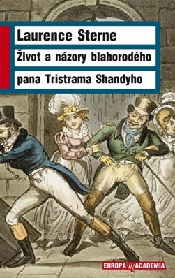 foto: obálka knihy Život a názory blahorodého pana Tristrama Shandyho