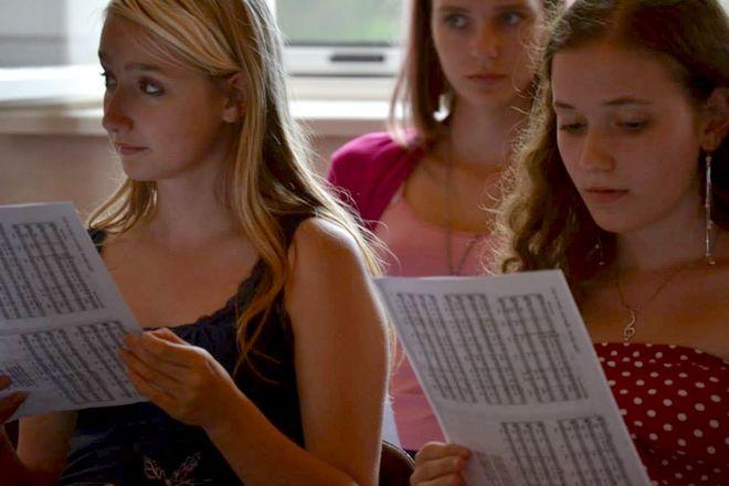 FOTO: Zpívání na škole