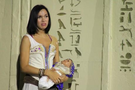 Muzikál Kleopatra zkouška