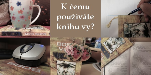 FOTO: A na co používáte knihu vy?