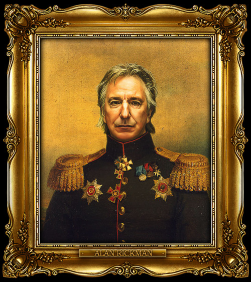 Alan Rickman, Zdroj: replaceface.tumblr.com