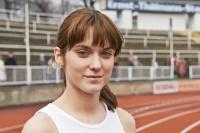Judit Bárdos jako devatenáctiletá sprinterka. Zdroj: Distributor