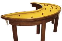 Kulečníkový banánový stůl, Autor: Cléon Daniel