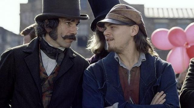 FOTO: Daniel Day Lewis Leonardo DiCaprio Gangs of New York
