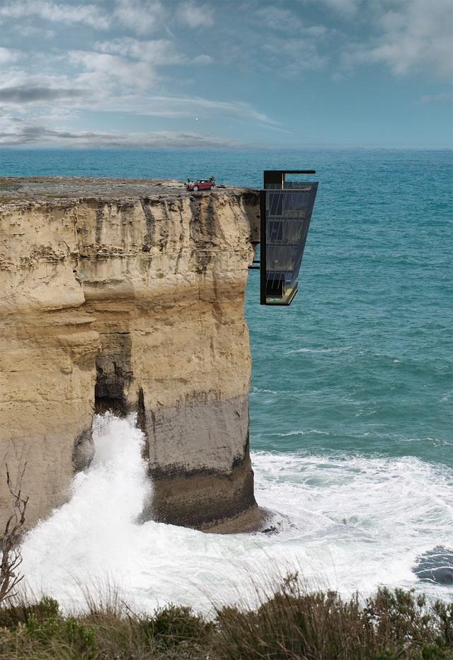 Dům na útesu, Zdroj: www.modscape.com.au