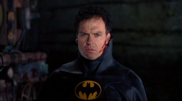 Michael Keaton ve snímku Batman se vrací (1992). Zdroj: Warner Bros.