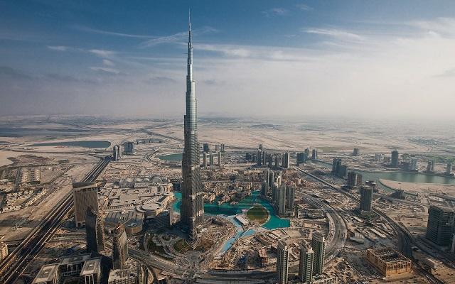 Burj Khalifa, Dubaj, Zdroj: www.gentside.com