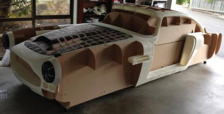 Aston Martin z 3D tiskárny, Zdroj: www.replicadb4.com