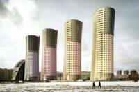 Grand Park Towers, Moskva, Frank Herfort. Zdroj: www.frankherfort.de