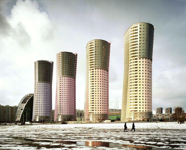 Grand Park Towers, Moskva, Frank Herfort, Zdroj: www.frankherfort.de