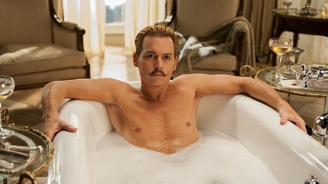 FOTO: Johnny Depp Mortdecai