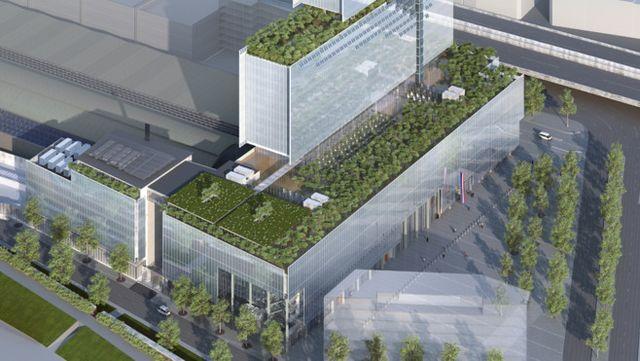Palais de la justice, Renzo Piano, Paříž, Zdroj: www.clichy-batignolles.fr