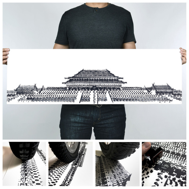 Zakázané město, Thomas Yang, Zdroj: www.100copies.net