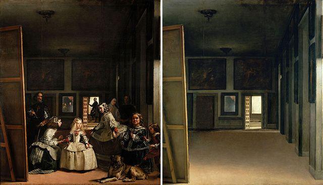 Espacios Ocultos - Las Menines (Velázquez) José Manuel Ballester, Zdroj: www.josemanuelballester.com