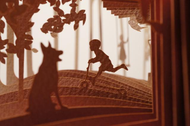 360° kniha Sweet Home, Yusuke Oono. Zdroj: www.loftwork.com