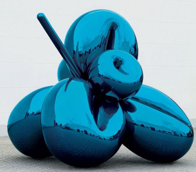 Ballon flower, Jeff Koons, Zdroj: www.jeffkoons.com