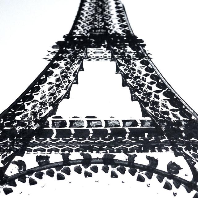 Eiffelova věž, Thomas Yang, Zdroj: www.100copies.net