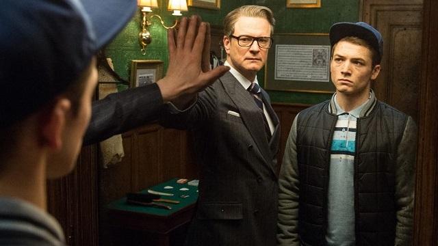 FOTO: Colin Firth Taron Egerton Kingsman