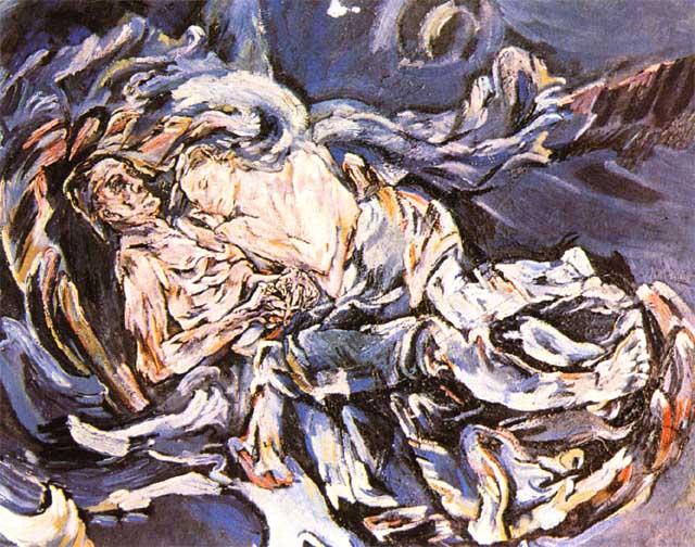 Nevěsta větru, Oskar Kokoschka, 1914, Zdroj: www.cojeco.cz