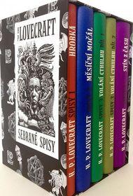 OBR: Howard Phillips Lovecraft: Sebrané spisy H. P. Lovecrafta BOX