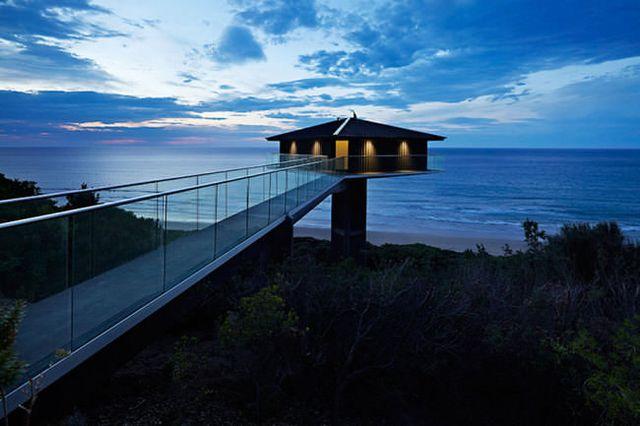 Levitující dům, Zdroj: www.f2architecture.com.au