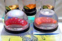 Sushi těžítko, Eri Inami, Zdroj: www.eriinami.blogspot.jp