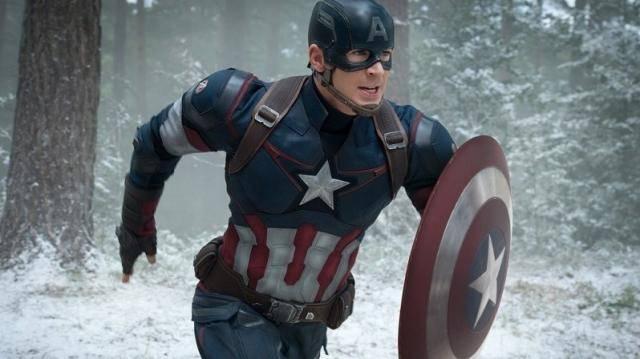 FOTO: Chris Evans Avengers Age of Ultron
