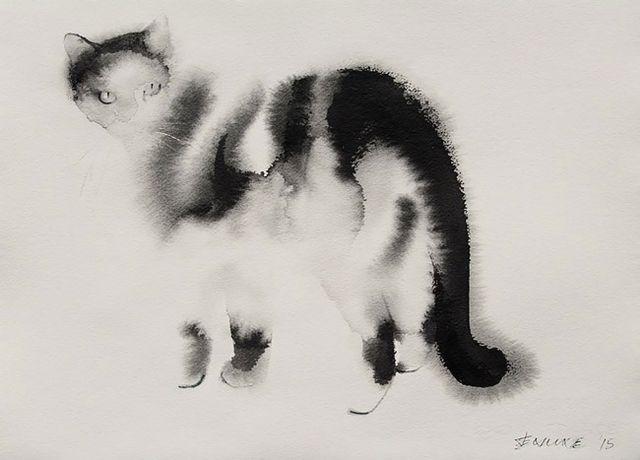Kočka, Endre Penovác, Zdroj: www.penovacendre.com