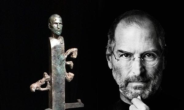 Busta Steva Jobse,  Dragan Radenovic, Zdroj: www.netokracija.com