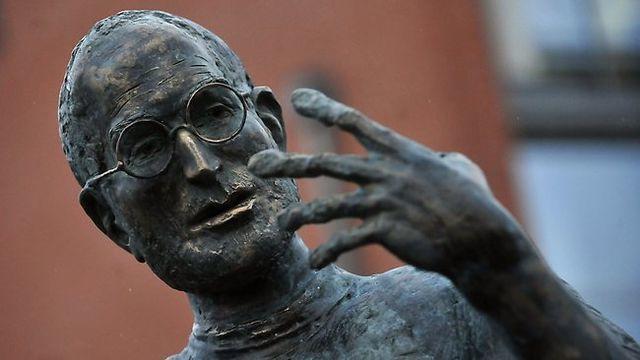 Steve Jobs, socha, Budapešť, Zdroj: www.couriermail.com.au