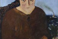 Josef Šíma, Portrét Marguerite Neveux (1922), Zdroj: Adolf Loos Apartment