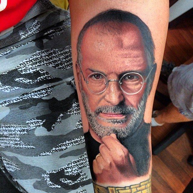 Steve Jobs, tetování, Zdroj: www.macworld.co.uk