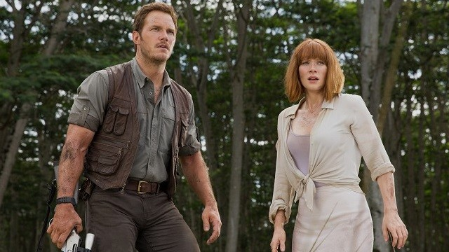 FOTO: Chris Pratt Bryce Dallas Howard Jurassic World