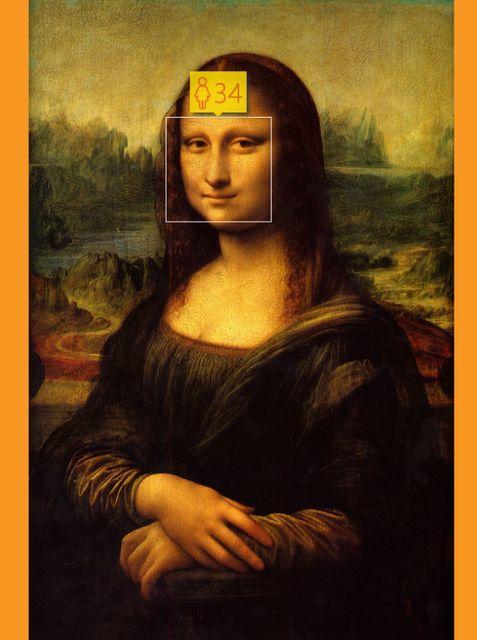 Microsoft aplikace, Mona Lisa, Zdroj: www.gizmondo.com