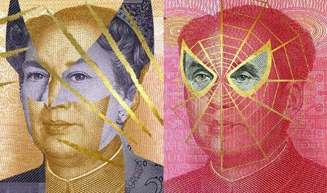 Bankovky se superhrdinou, Alessandro Rabatti, Zdroj: www.behance.net/gallery/15246713/FACEBANK%20