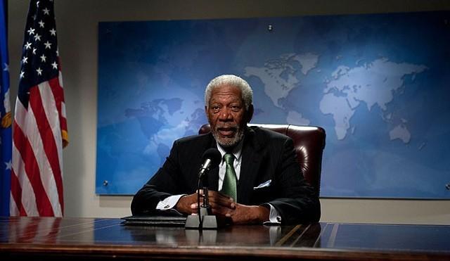 FOTO: Pád Bílého domu - Morgan Freeman -Bontonfilm CZ