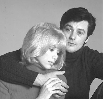 Alain Delon s Mireille Darcovou