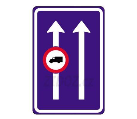 omezeni v dopravnim pruhu