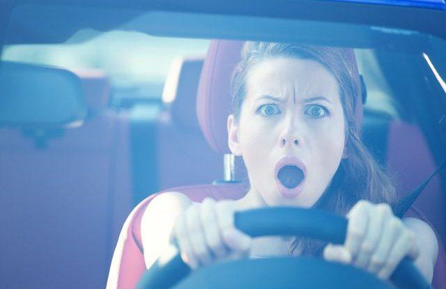 autonehoda špatný zrak za volantem