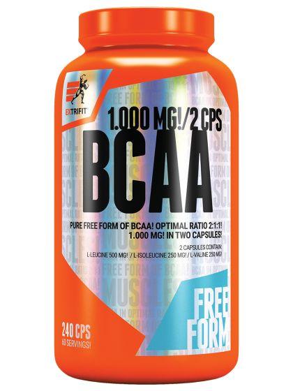Doplněk stravy BCAA, růst svalů, trénink