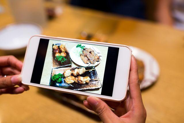 Mobilní aplikace Já, Číšník